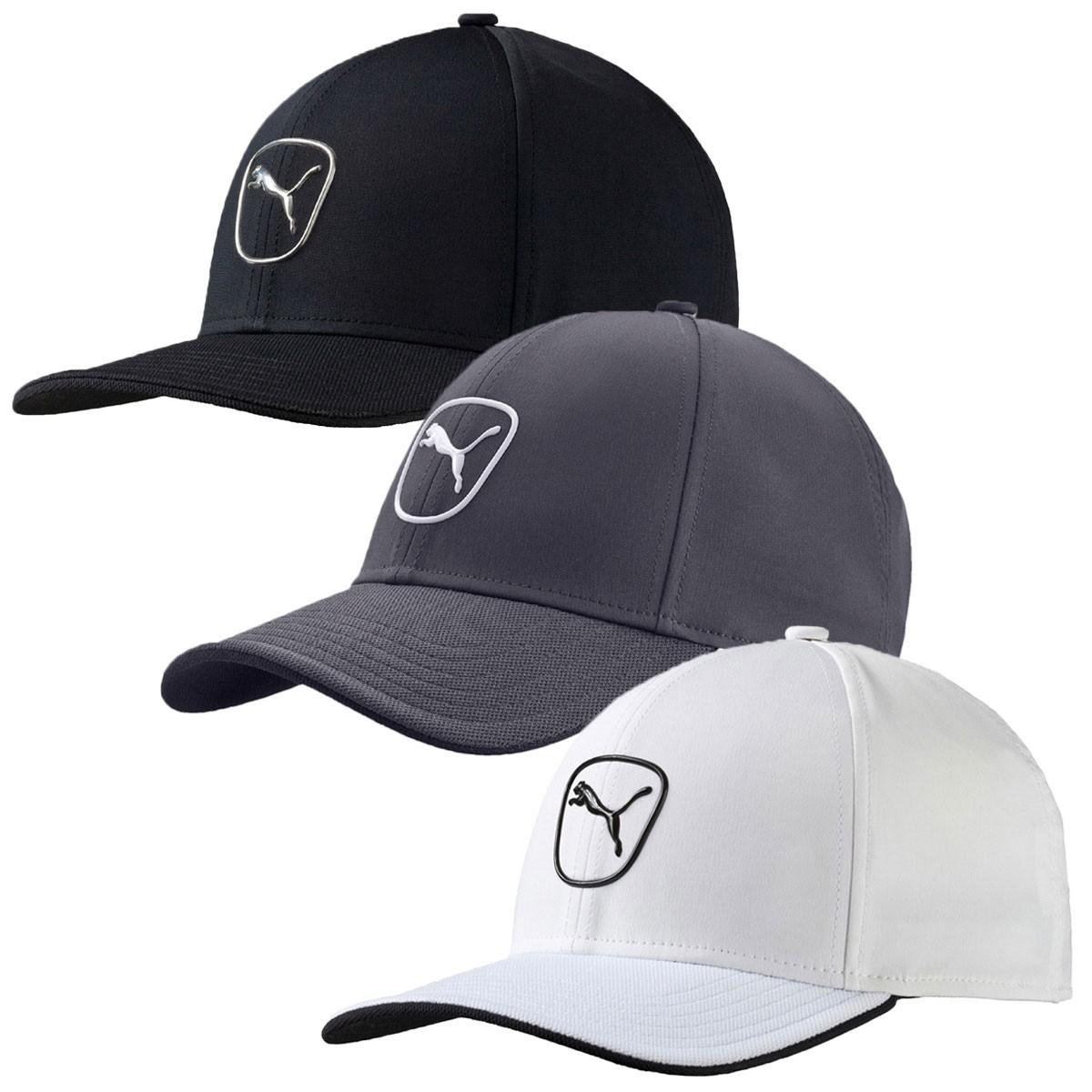 0de639b0e45 Puma Golf 2016 Mens Cat Patch 2.0 Pre-Curved Cap Adjustable Baseball Hat  052961
