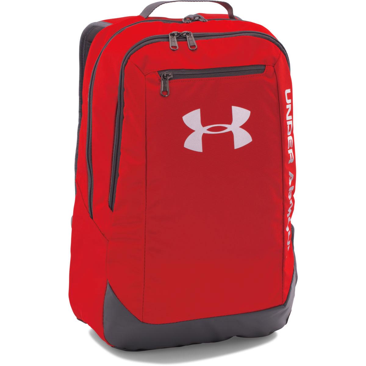 34aaacd16c37 ... Under Armour 2019 UA Hustle Backpack LDWR.   Back. 1273274 CLEAR