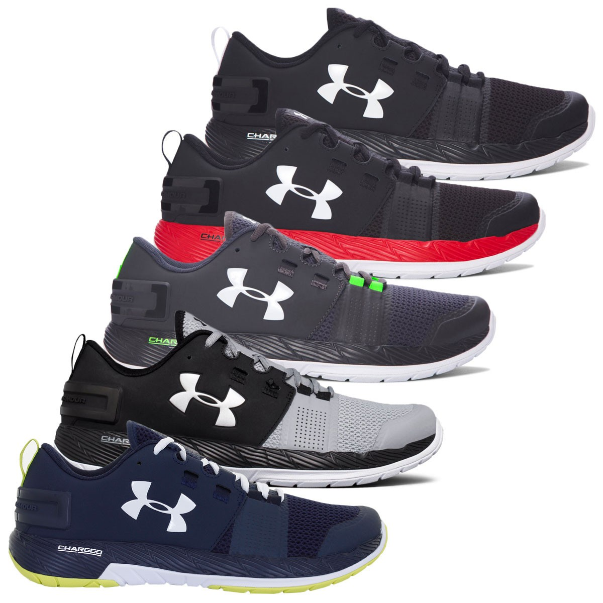 huge selection of 204d1 1f59e Under Armour Mens UA Commit TR Trainers - Trainers ...