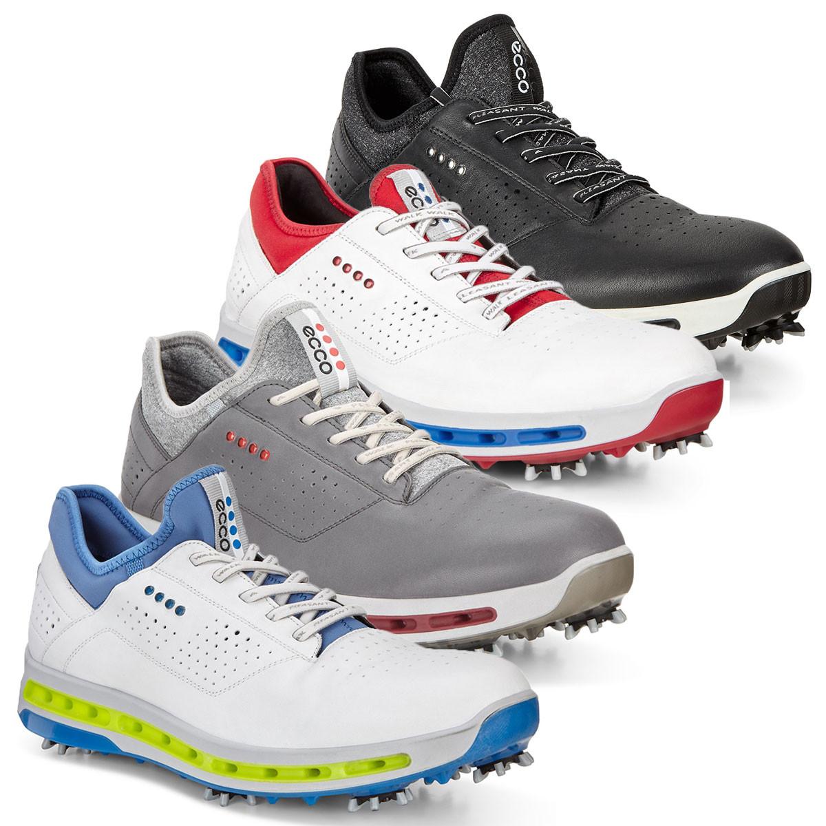 30afc6fdc6 Ecco Mens Waterproof Cool GoreTex Golf Shoes