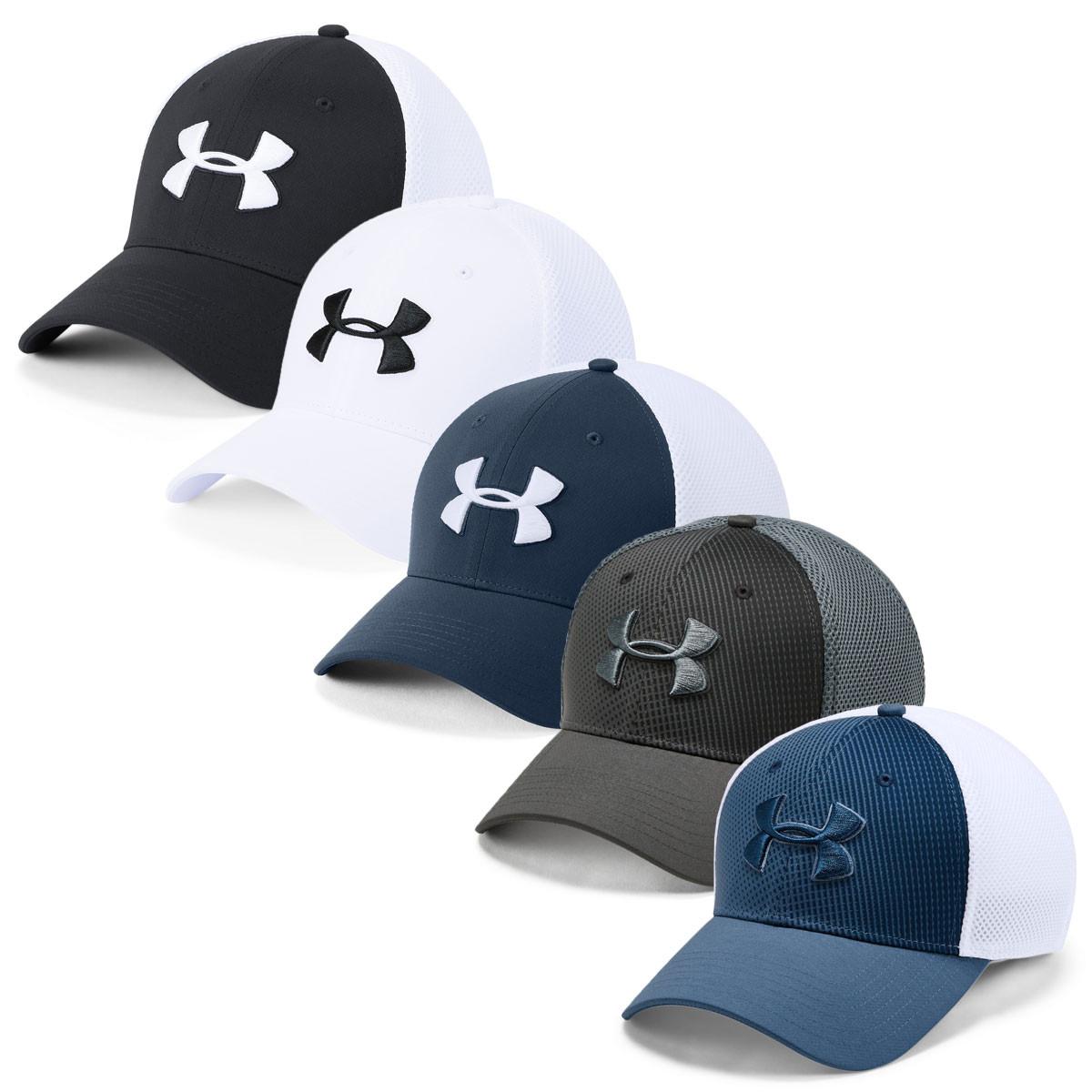 Under Armour Mens 2019 TB Classic Mesh Cap - Golf Headwear - Men - Golf e13adb90ef51