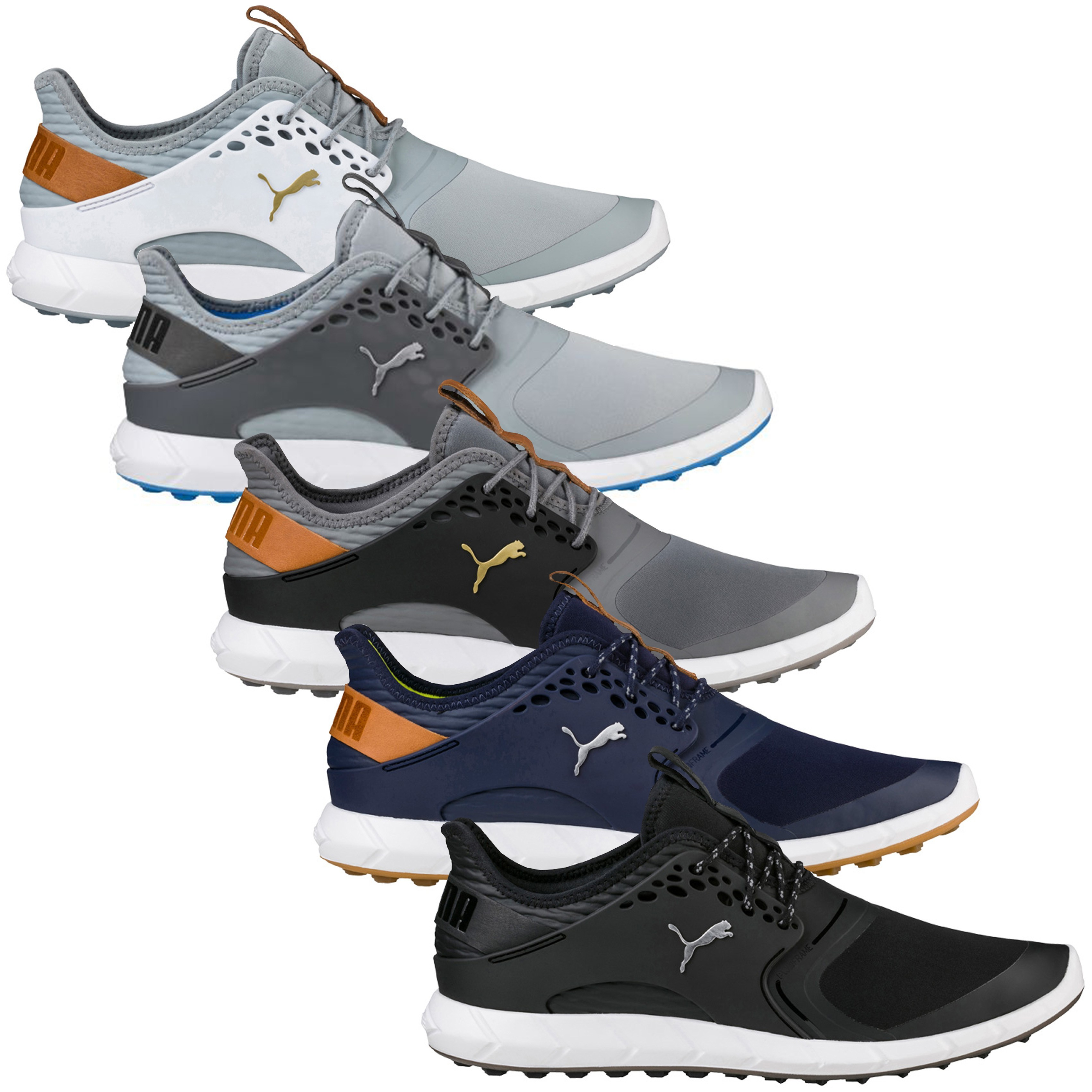 71a3a09b008525 SHARE THIS ITEM WITH YOUR FRIENDS. Watch video Size Guide. Description   Technology  Reviews0. Description. The Puma Golf Mens Ignite PWR Sport Golf  Shoes ...
