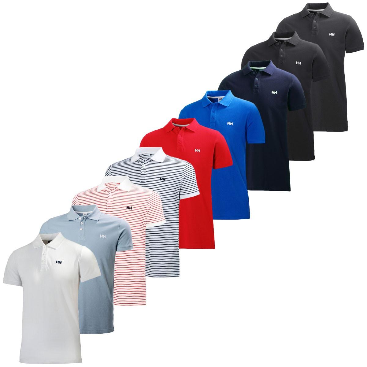 Helly Hansen Mens Short Sleeve Transat Cotton Polo Shirt
