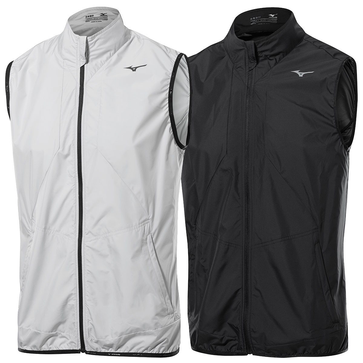 9b823ec9ac135 ... Mizuno Golf Mens FZ Wind Vest Sleeveless Jacket.   Back. 52GE7001