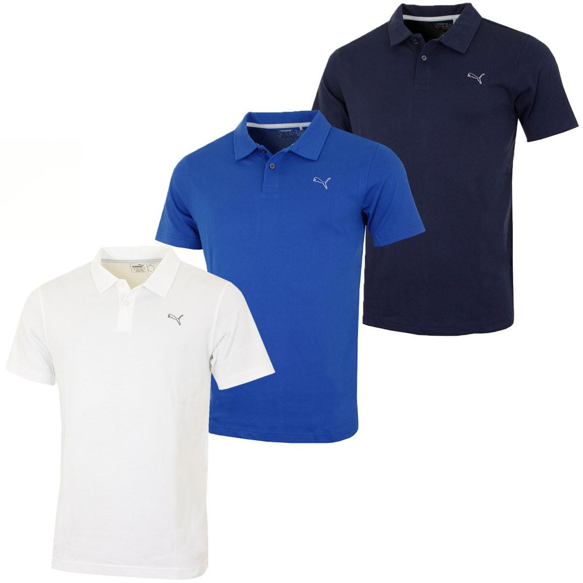 Puma golf 2016 mens essential cool touch golf polo shirt for Cool mens polo shirts