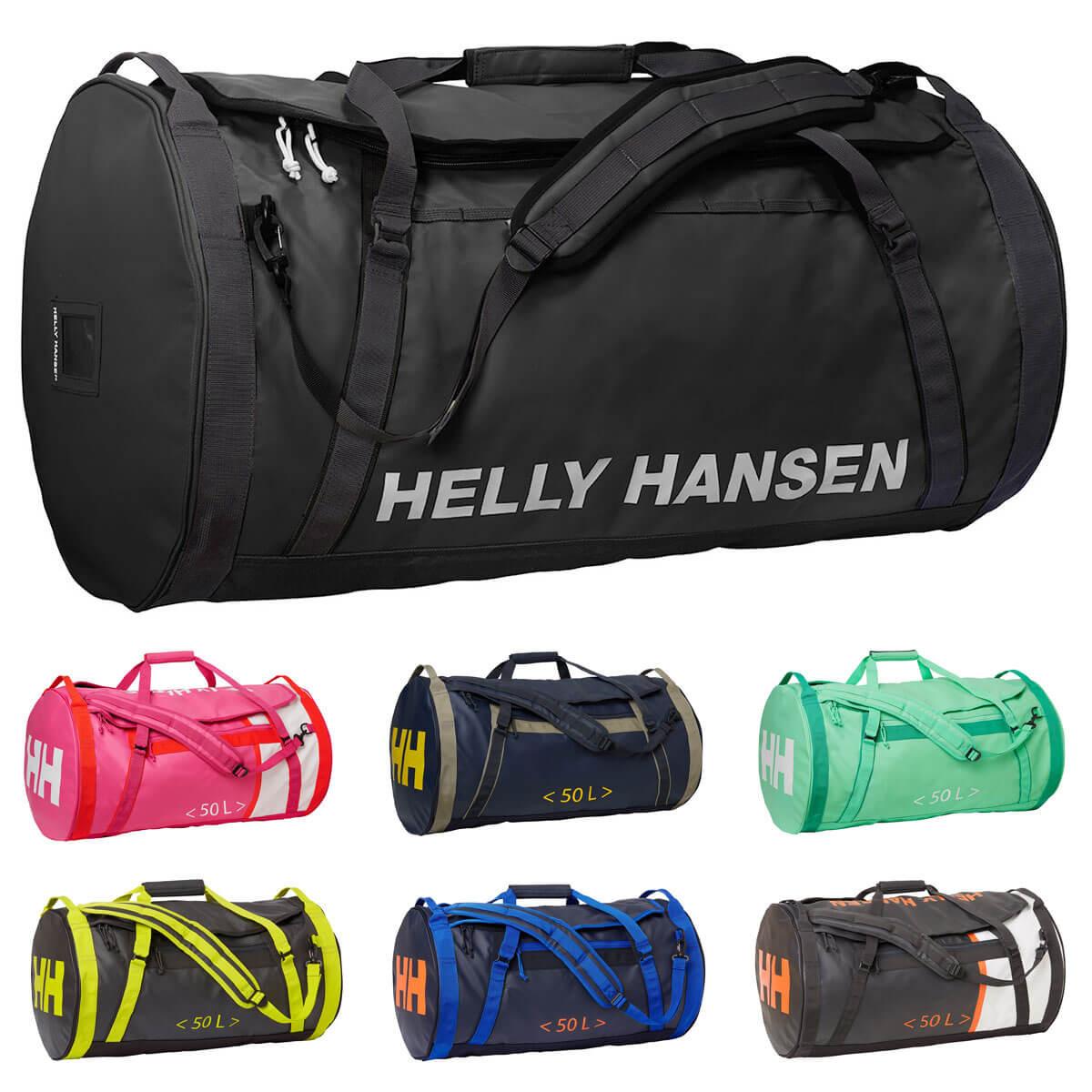 08249cccc5 Helly Hansen 2019 HH Duffel Bag 2 50L Holdall - Tree Present