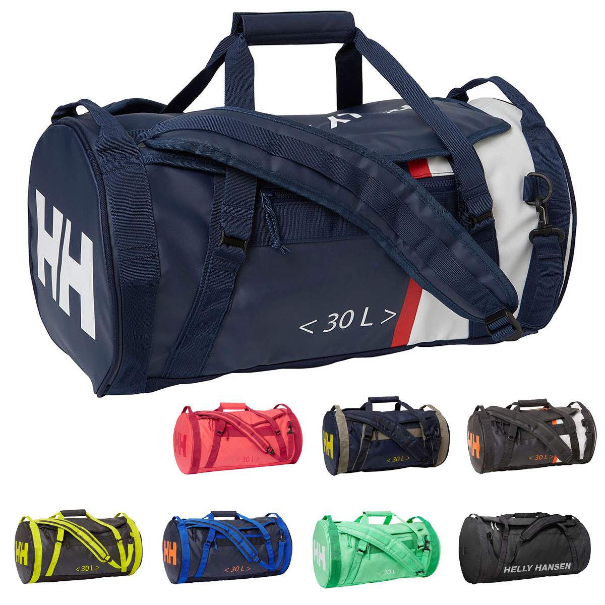 e5572dd26c SHARE THIS ITEM WITH YOUR FRIENDS. Watch video Size Guide. Description;  Technology; Reviews0. Description. The Helly Hansen HH Duffel Bag 2 30L  Holdall ...