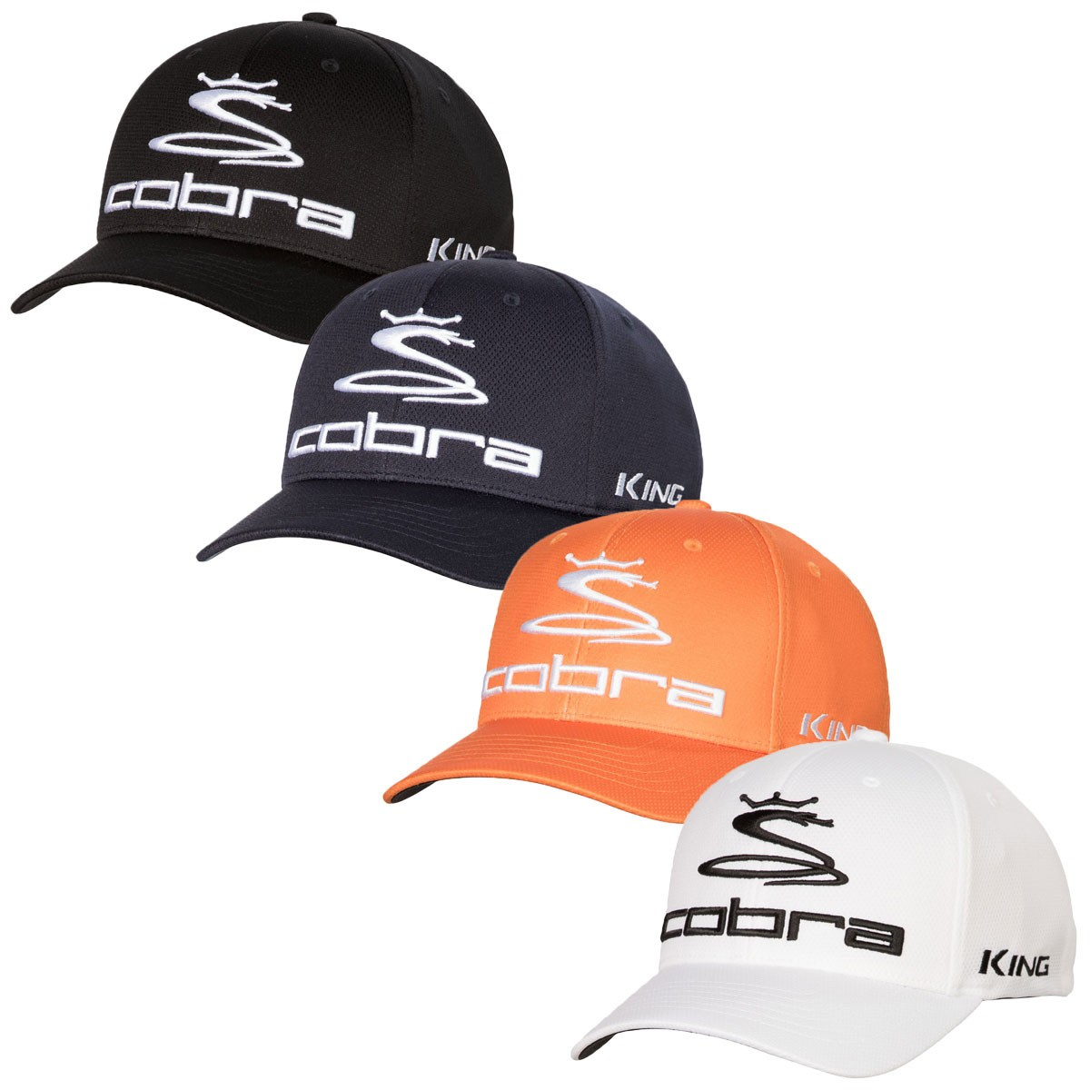 Cobra Golf Mens Flexfit Pro Tour Cap ac13da89ffb