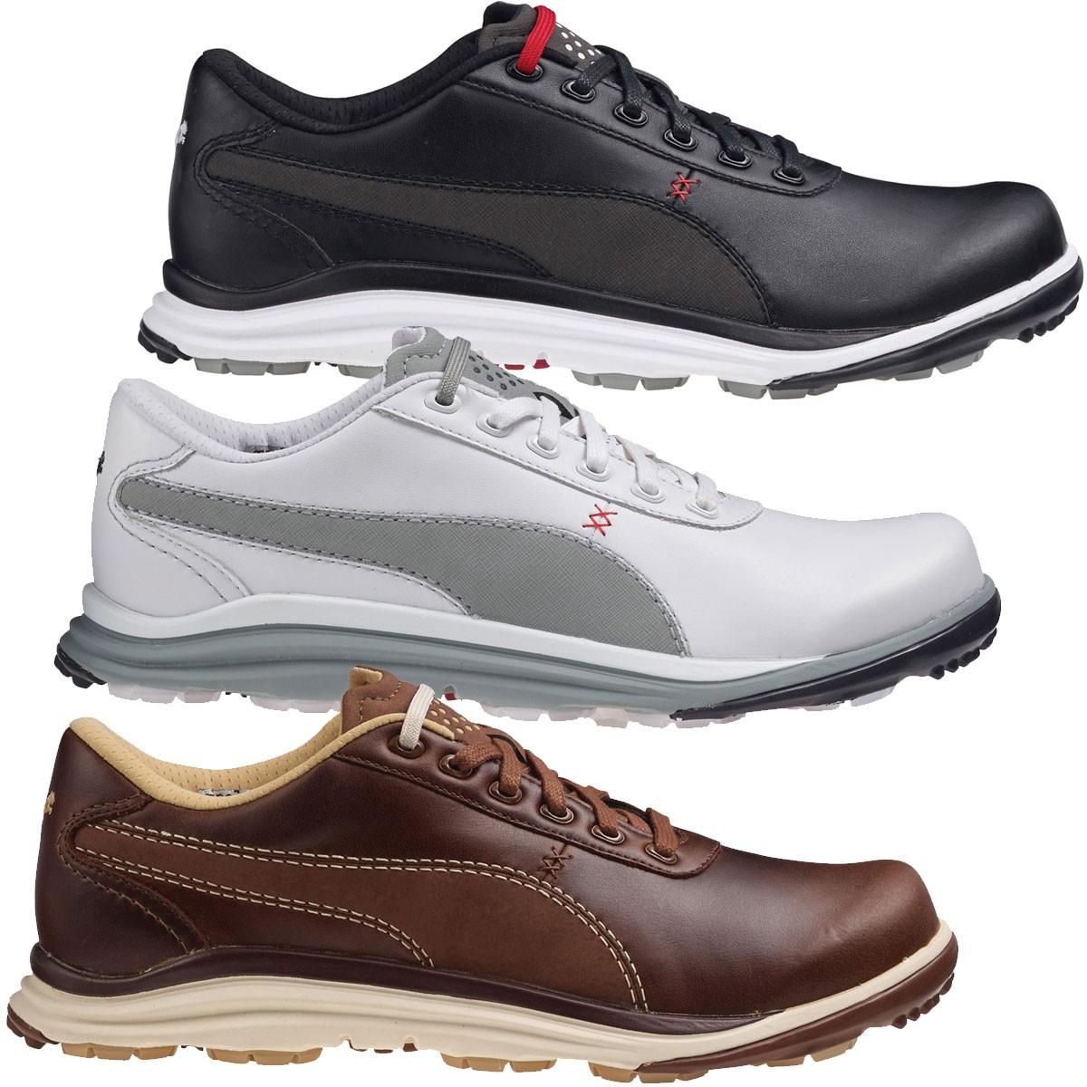 e7a8967804b66e ... Puma Golf Mens BioDrive Spikeless Waterproof Leather Golf Shoes.    Back. 188337 188202