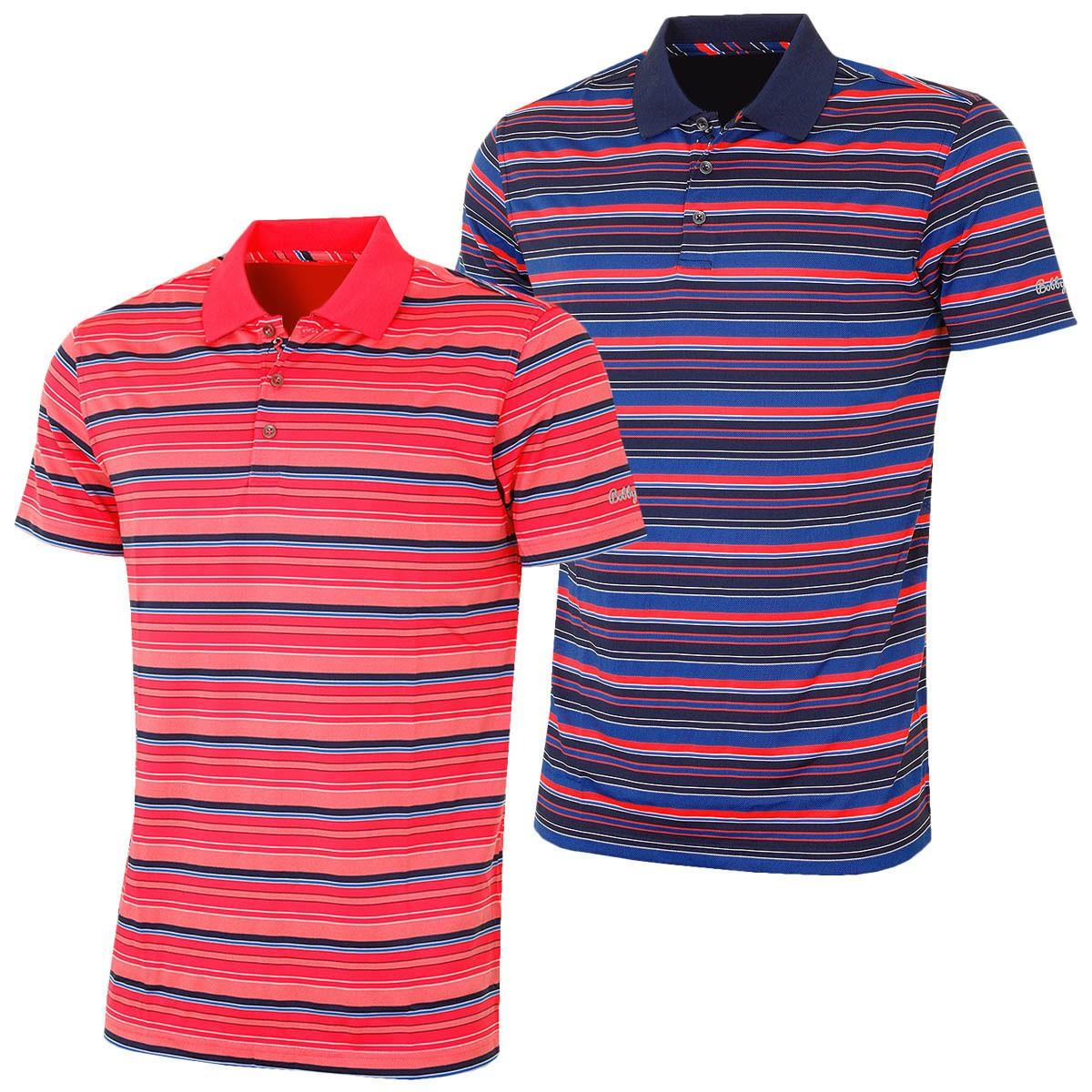 ff9c26da Bobby Jones Mens XH20 Nine Iron Multi Stripe Golf Polo Shirt - Men ...