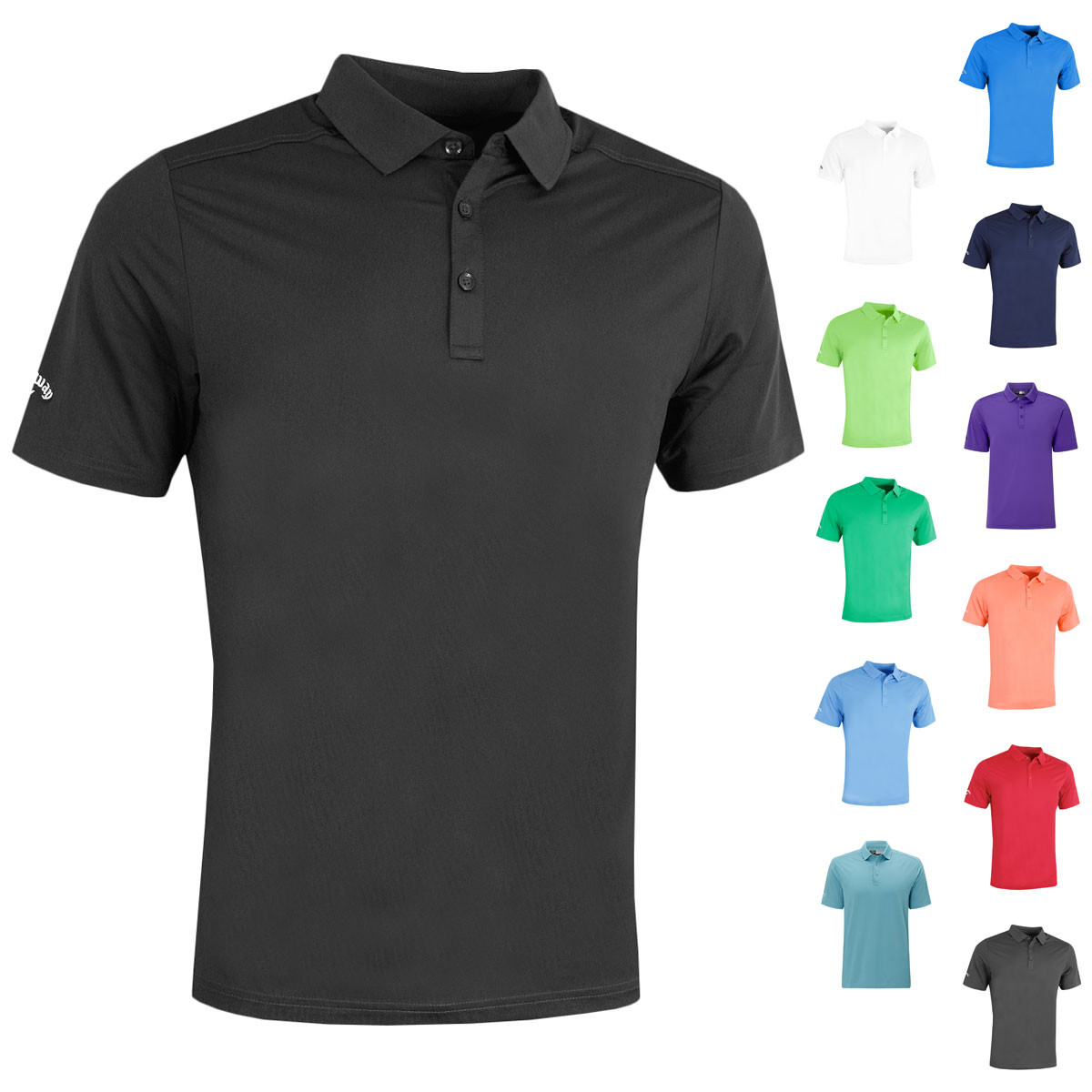 b72987cf SHARE THIS ITEM WITH YOUR FRIENDS. Watch video Size Guide. Description;  Technology; Reviews0. Description. The Callaway Golf Mens 2018 Hex Opti  Stretch Polo ...