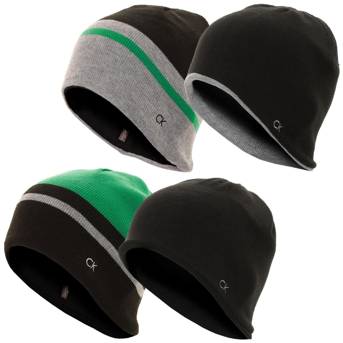 9378b46c510 Calvin Klein Golf Mens Reversible Knit Beanie - Men