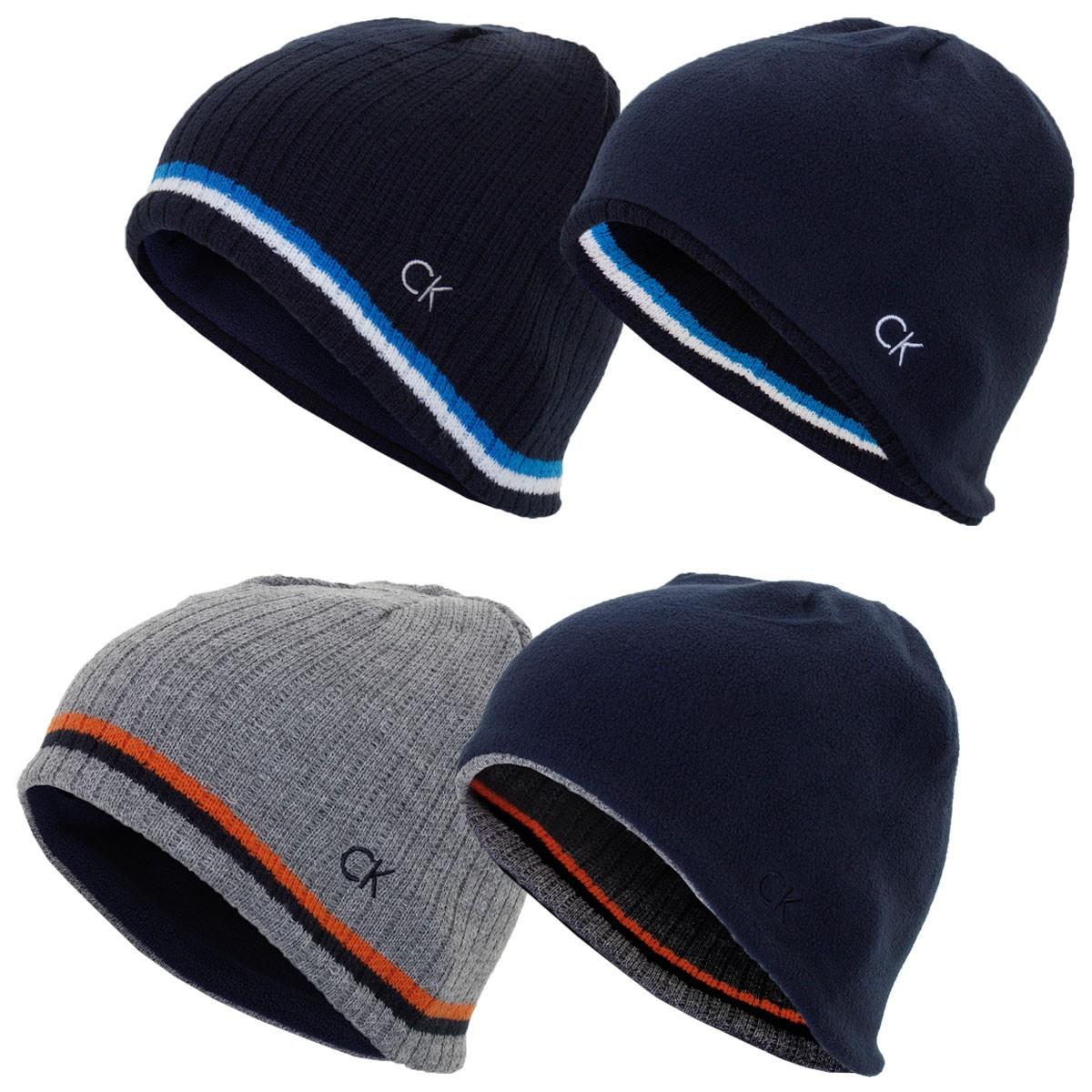 242a7e8a Calvin Klein Golf Mens Reversible Knit Beanie