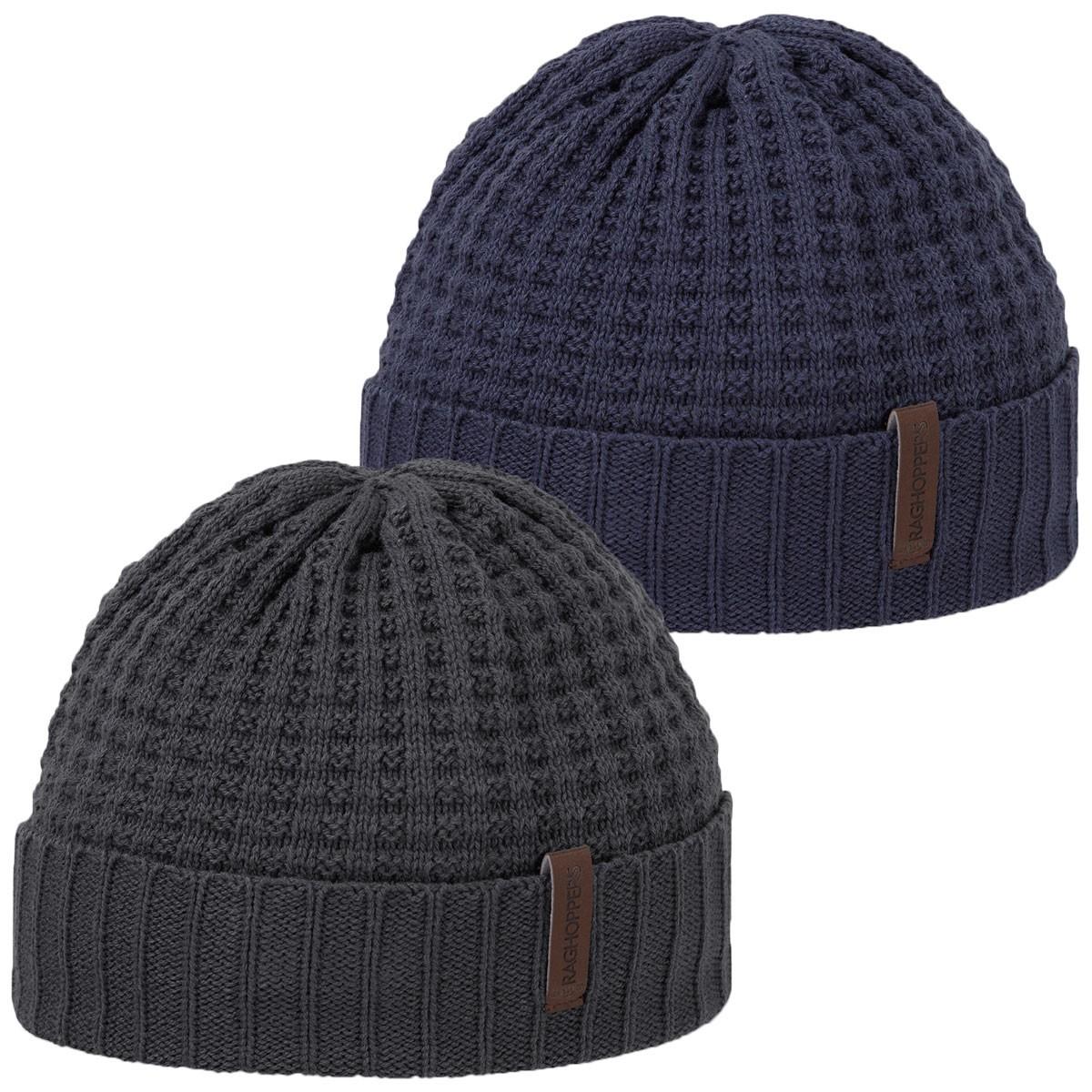 691d5dac6d9 Craghoppers Unisex Brompton Waffle Beanie Hat