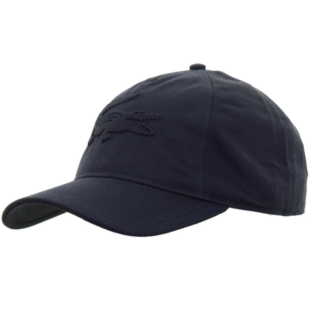 c2f6083fa7fc9 Lacoste Mens Gabardine Embossed Croc Adjustable Cap - Golf Headwear ...