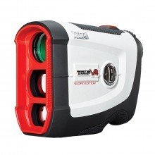 Bushnell Golf Tour V4 Shift Slope-Switch Laser Rangefinder - White/Black