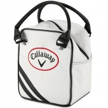 Callaway Golf Practice Caddy Golf Ball Shag Bag - White/Black