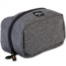 Callaway Golf Clubhouse Dopp Kit Toiletries Wash Bag Travel - Charcoal