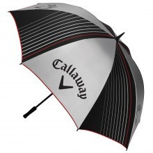 "Callaway Golf 2017 UV 64"" Single Canopy Umbrella - Silver/Black/Red"