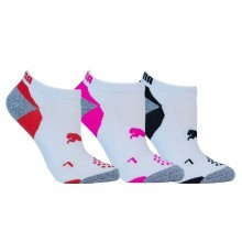 Puma Golf Womens Pounce Low Cut Socks 3 Pack - White
