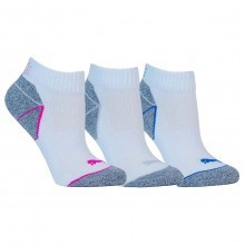 Puma Golf Womens Pounce Quarter Crew Socks 3 Pack - White