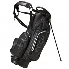 Ecco 2016 Carry Stand Golf Bag Watertight - 6 Way Top Divider - 6 Pockets  Black