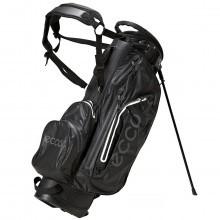 Ecco Carry Stand Golf Bag Watertight - 6 Way Top Divider - 6 Pockets  Black