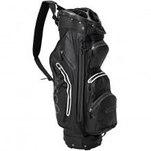 Ecco Cart Trolley Golf Bag Watertight - 14 Way Divider - 9 Pockets - Black