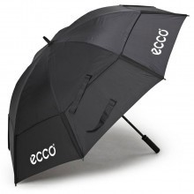 "Ecco 62"" Double Canopy Golf Umbrella - Black"