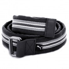 Puma Golf Mens Stripe Jacquard Web Belt - Black