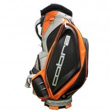 Cobra Golf Fly Z Tour Staff Bag - 6-Way Top Divider - 10 Pockets - Black