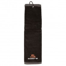 Cobra Golf 2017 Tri-fold Towel - Black