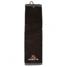 Cobra Golf 2017 Tri-fold Towel - Black