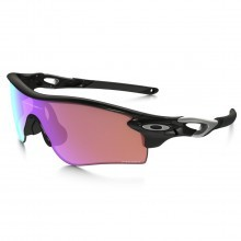 Oakley Sport Radar Lockpath Sunglasses - Polished Black/ Prizm HD Lenses