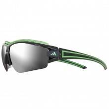 Adidas Eyewear Evil Eye Pro L Sunglasses - Shiny Black/Green