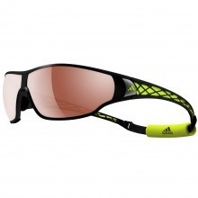 Adidas Eyewear Unisex Tycane Pro L Sunglasses - Matte Black/Lab Lime