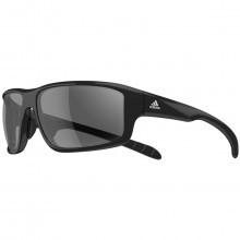 adidas Kumacross 2.0 Sunglasses - Black Shiny/Black/Grey