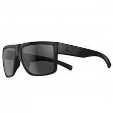 Adidas 3Matic Sunglasses - Black Shiny - Grey Polarised Lenses