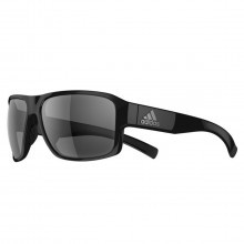Adidas AD20 Jaysor Sunglasses - Black Shiny - Grey Lenses