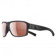 Adidas AD20 Jaysor Sunglasses - Coal Matt - LST Active Silver Lenses
