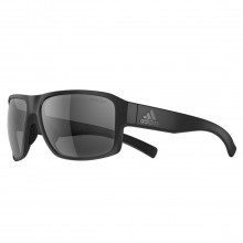 Adidas AD20 Jaysor Sunglasses - Black Matt - Polarized Lenses