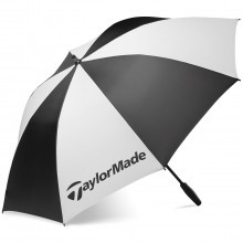 "Taylormade Golf 2016 TM Single Canopy 62"" Umbrella - Black/White"