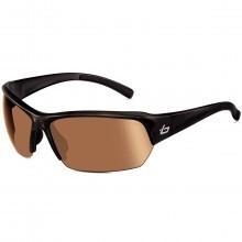 Bolle Golf Men's Ransom Sunglasses - Shiny Black / Eagle Vision AF Lens