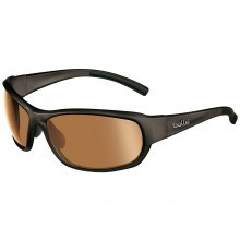 Bolle Golf Mens Bounty Sunglasses - Shiny Black / Photo V3 Golf Lens