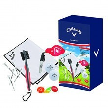 Callaway Golf Players Ultimate Gift Set - White/Black/Red/Neon