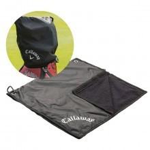 Callaway Golf 2016 Club Waterproof Rain Hood Towel Combo  - Black