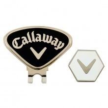 Callaway Golf 2016 Hat Clip & Hex Magnetic Ball Marker CALCT29026 - Black