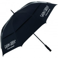 "Galvin Green 2016 Tromb 60"" Double Canopy Golf Umbrella - Black/Silver AW16"