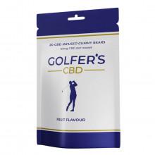 Golfer's CBD 2021 10mg CBD Gummies - 20 Pack