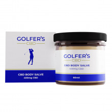 Golfer's CBD 2021 Recovery Anti-Inflammatory CBD Body Salve 400mg - 60 ml